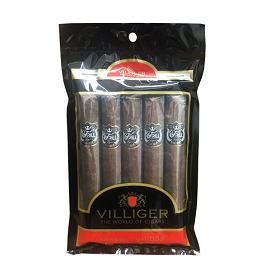 Villiger Trill - 5 ct Cigar pack in a portable humidor