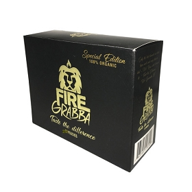 Fire Grabba Cigar Wraps Black Edition - 20Ct