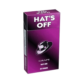 Hat's Off Filtered Cigars Grape