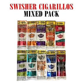 Mixed Flavor Pack - Swisher Sweets Cigarillos