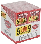 Swisher Sweets Cigarillo Strawberry 5 Pack (5FOR3)