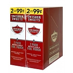 Swisher Sweets Cigarillos Foil Pack Regular Pre-Priced