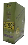Supreme Blend Cigarillos White Grape 4 for $0.99
