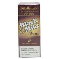 Black & Mild Wine Cigars Box