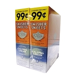Swisher Sweets Cigarillos Foil Pack Calypso Cream Pre-Priced