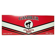 Gambler Filtered Cigars Full Flavor