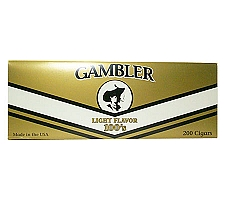 Gambler Filtered Cigars Light