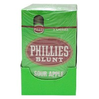 Phillies Blunt Cigars Sour Apple Pack