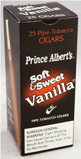 Prince Albert Cigars Soft & Sweet Vanilla Box