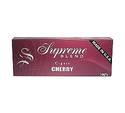 Supreme Blend Filtered Cigars Cherry BOX