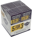 Swisher Sweets Cigarillo Grape  5 Pack (5FOR3)