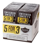 Swisher Sweets Cigarillo Chocolate 5 Pack (5FOR3)