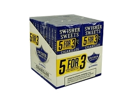 Swisher Sweets Cigarillo Blueberry 5 Pack (5FOR3)