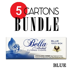 Bella Filtered Cigars Blue (Light) - Bundle5