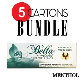 Bella Filtered Cigars Menthol - Bundle5