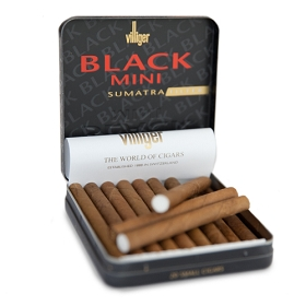 Villiger Mini Cigarillos Sumatra NON Filtered (5 Tins of 20)