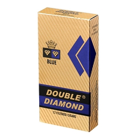 Double Diamond HW Filtered Cigars Blue LONG 12/pack