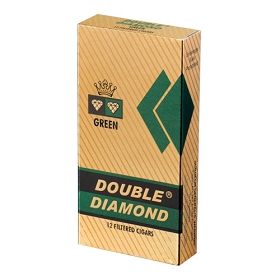 Double Diamond HW Filtered Cigars Green LONG 12/pack