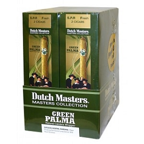 Dutch Masters Green Palma Fresh Loc Foil Pouch 20/2