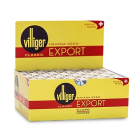 Villiger Export Natural Cigars - 50 Ct Box