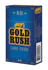 Gold Rush Large Cigars Blue PACK