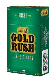 Gold Rush Large Cigars Green PACK