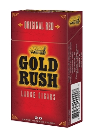 Gold Rush Large Cigars Red PACK