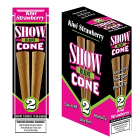 Show Blunt Cone Cigar Kiwi Strawberry