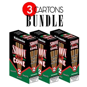 Show Blunt Cone Cigar Watermelon BUNDLE 3