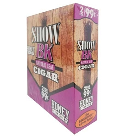 Show BK Natural Leaf Cigars 15/2Pk - Honey Berry
