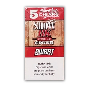 Show BK Natural Leaf Cigars Sweet  - 8x5 Pack