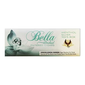 Bella Filtered Cigars Menthol Silver (Menthol Ultra Lights)
