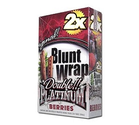 Double Platinum Blunt Wraps Berries 2X
