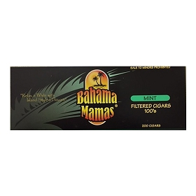 Bahama Mamas Filtered Cigars Mint