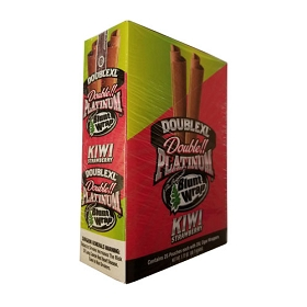 Double Platinum Blunt Wraps Kiwi-Strawberry 2X