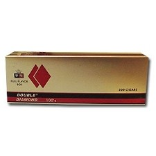 Double Diamond Filtered Cigars Full Flavor 100's