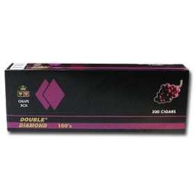Double Diamond Filtered Cigars Grape 100's