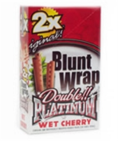 Double Platinum Blunt Wraps Wet Cherry 2X