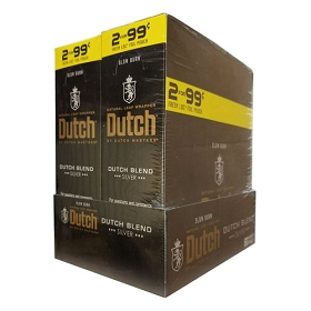 Dutch Masters Cigarillos Foil Dutch Blend Silver Pre-Priced