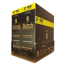 Dutch Masters Cigarillos Foil Irish Fusion Pre-Priced