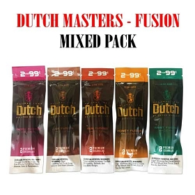 Mixed Flavor Pack - Dutch Masters Fusion Cigarillos