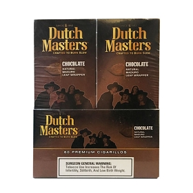 Dutch Masters Cigarillos Palma Chocolate Foil 60 Ct
