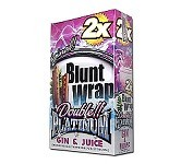 Double Platinum Blunt Wraps Gin & Juice 2X