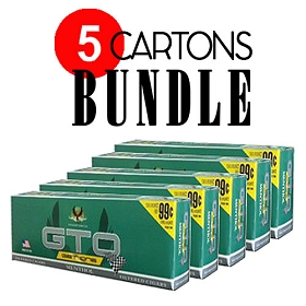 GTO Filtered Cigars Menthol - BUNDLE 5