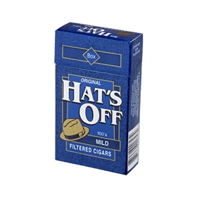 Hat's Off Filtered Cigars Mild