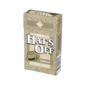 Hat's Off Filtered Cigars Vanilla
