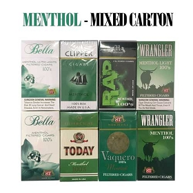 Mixed Brands Carton - Menthol Cigars