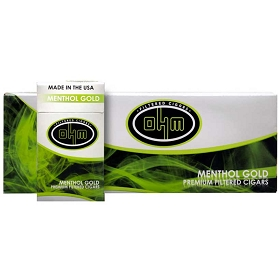 OHM Filtered Cigars Menthol Gold (Discontinued)