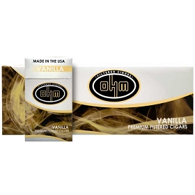 OHM Filtered Cigars Vanilla