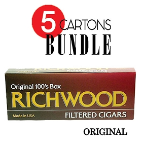 Richwood Filtered Cigars Original Bundle5